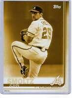 John Smoltz 2019 Topps Update Complete Atlanta Braves Alumni 5x7 Gold #BAPC-5 /1