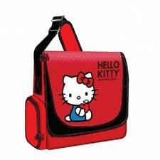 HELLO KITTY*Vertical MESSENGER STYLE Laptop Case*PC COMPUTER NOTEBOOK BAG*RED