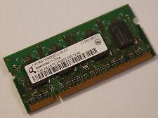 Qimonda hys64t128020edl-3s-c2 ddr2 di RAM 667mhz pc2-5300s-555 TOP! (55)
