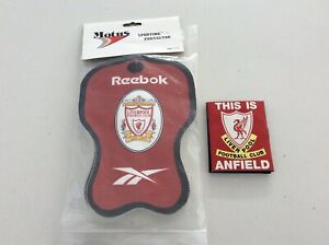 REEBOK LIVERPOOL FC SPORTING PROTECTOR (BRAND NEW) AND MEMBERSHIP CARD HOLDER