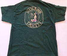 eVintage Hinano Tahiti Vahine Logo XL Green T-ShirtT shirt