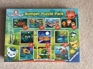 new octonauts bumper puzzle pack-10 in a box