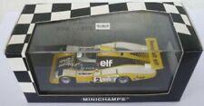 Voitures des 24 Heures du Mans miniatures jaunes 1:43