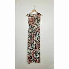 Vintage 70s Abstract Floral Maxi