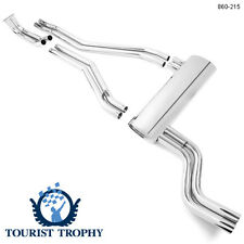 New Polished Stainless Steel Performance Exhaust System Triumph TR6 1972-1976