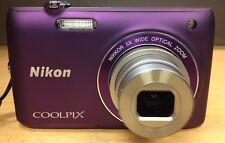 Camera Nikon Coolpix S4100 Digital Touchscreen 14 MP color purple