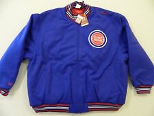 M126 New Mitchell & Ness Detroit Pistons Wool Coat Jacket MEN'S 48 XL