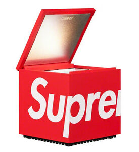 Supreme x Cini&Nils Cuboluce Table Lamp Color Red Table Top *Confirmed Order
