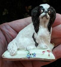 More details for basil matthews pottery cavalier king charles spaniel dog model ornament