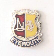 Eyemouth Town Scottish Borders Scotland Small Crest Pin Badge - 194