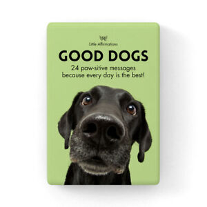 Good Dogs - Little Affirmations 24 Card Pack - Animal Inspiration Quotes