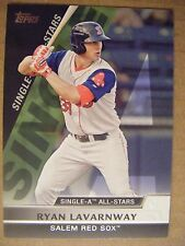 RYAN LAVARNWAY RC A's RED SOX 2011 Topps Pro Debut All-Star baseball card ORIOLE