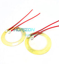10PCS 27mm Sounder Sensor Trigger Drum Disc + wire copper Piezo Elements