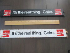 COCA COLA METAL ADVERTISING SIGNS
