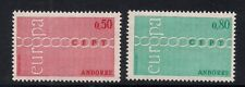 Andorra-Fr. 1971 Sc #205-06 Europa MNH Scv.$20 (3-6205)