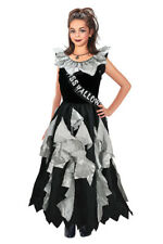 Childrens Zombie Prom Queen Halloween Fancy Dress Costume Girls Outfit 11-13 Yrs