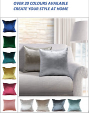 Velvet Decorative Sofa Waist Throw Cushion Cover 45x45cm