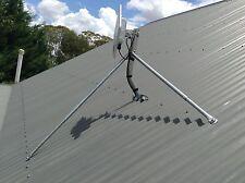 Tripod Flexi Iron Metal Tin Roof Mount Satellite Dish TV Ku Foxtel Optus NBN NSW