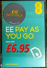 EE 4G Pay as You Go SIM PAYG Nano Micro Standard Triple Cut