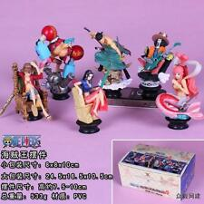 ONE PIECE SCACCHI CHESS COLLECTION FULL SET ACTION FIGURE RUFY ZORO NICO ROBIN