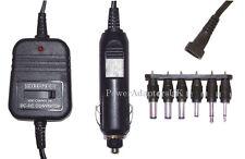 DC REGULATED CAR POWER ADAPTOR/SUPPLY/CHARGER 800MA 1.5/3V/4.5V/6V/7.5V/9V/12V E
