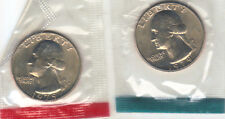 1979 P+D WASHINGTON QUARTER UNCIRCULATED STILL IN MINT CELLO L@@K