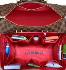 Bag Organizer Shaper Internal for LV SPEEDY 25 TOTALLY MM Hamstead PM in RED