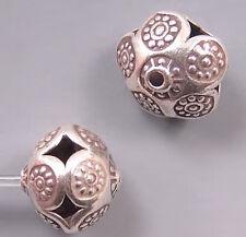 Karen Hill Tribe Silver Open Work Beads T597 (1)