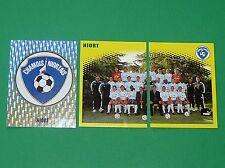 PANINI FOOT 98 CHAMOIS NIORTAIS NIORT COMPLET FOOTBALL SAISON 1997-1998