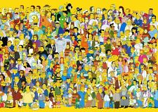 Simpsons 3  A3 Promo Poster T345