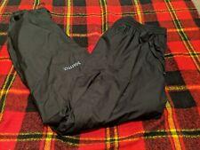 Marmot Men's PreCip Rain Pants Full Zip Leg Size Large (short) Black
