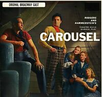 CAROUSEL soundtrack original broadway cast MCL 1661 uk mca 1968 LP PS EX/EX
