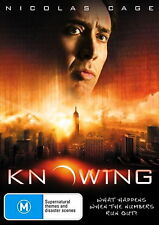 Knowing - Action / Thriller / Sci-Fi / Mystery - Nicolas Cage - NEW DVD