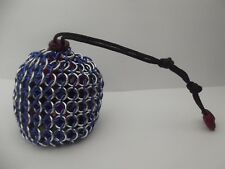 Harry Potter Ravenclaw Large Chainmaille Chainmail Dice Bag Pouch Blue Silver 5e