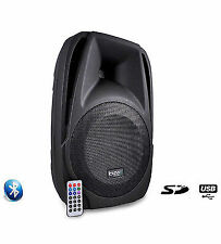 "Ibiza Bt10a Active Speaker 10"" 250w PA System Bluetooth DJ Disco"