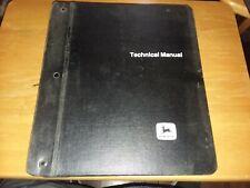 John Deere Hardcover Binder w/ New Holland Service Parts Catalogs. (Assortment)