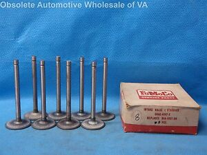 1958 - 1964 Ford 332 352 390 406 427 Intake Valve Set 8 Thunderbird Fairlane NOS