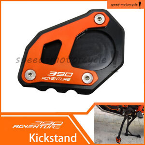 For KTM 390 Adventure 2020-2021 Side Stand Pad Plate Kickstand Enlarger Support