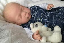 """ CHARLIE "" 18 INCH SLEEPING REBORN BABY BOY, MAGNETIC DUMMY"