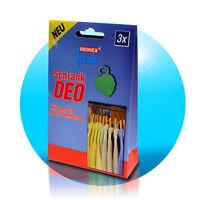 3 Stück Kleiderschrank Schrank deo Zedernholz Duft Kleidung Motten Schutz Reinex