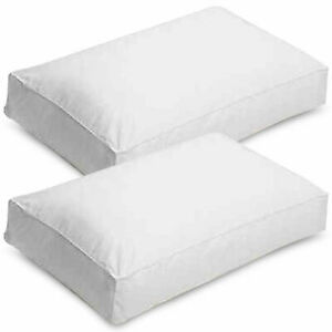 Luxury Hotel Quality Box Pillows-Hollow Fiber Extra Filled