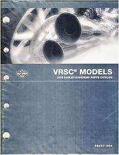Harley Davidson New   2006 V-Rod Parts Manual Catalog.