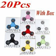 20pcs/lot Fidget Spinner Toy Hand Finger Tri Spinner  Hand Spinner Kid & Adults