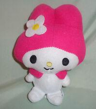 "Sanrio MY MELODY Hello Kitty White and Pink Plush Doll Sanrio 7"""
