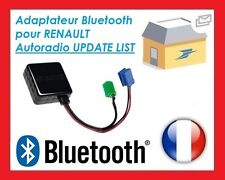 ⭐⭐⭐ CABLE BLUETOOTH AUXILIAIRE MP3 AUTORADIOS D'ORIGINE RENAULT UPDATE LIST  ⭐⭐⭐