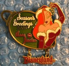 Disney Dlr - 2005 Holiday Ornament Collection - Jessica Rabbit Le/1500 Pin Moc