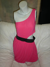 SUPRE HOT PINK CUT OUT  DRESS SZ XS BNWT Freepost E77