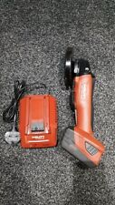hilti ag 125-a22 Comes With 5.2 Amp Battery And Charger.