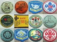 Boy Scouts Girl Guides Vintage Badge Patch Pin Button