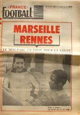 France Football n°1192-1969-MARSEILLE-RENNES KEITA-BATTEUX-LA CIOTAT-QUENOLLE